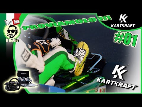 KART KRAFT - Gameplay ITA- #01 -  PROVIAMOLO !!!