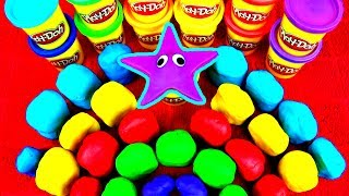30 Play Doh Surprise Eggs Kinder Spongebob Disney Princess Cars Peppa Pig Mario Shrek Dora FluffyJet