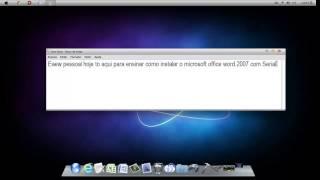 Baixando Microsoft Word 2007 + Serial