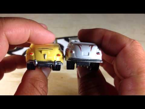 Hot Wheels Retro Entertainment Grease 48 Ford compared to Karate Kid 48 Ford Super Deluxe!