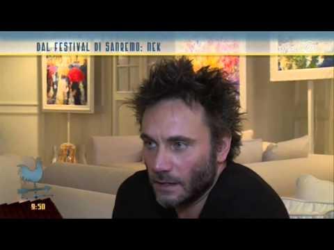 Sanremo 2015: Nek a TV2000
