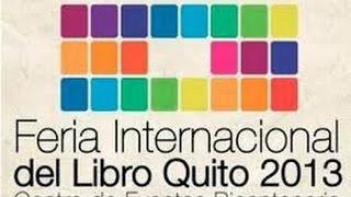 Feria Internacional del Libro y la Lectura Quito 2013