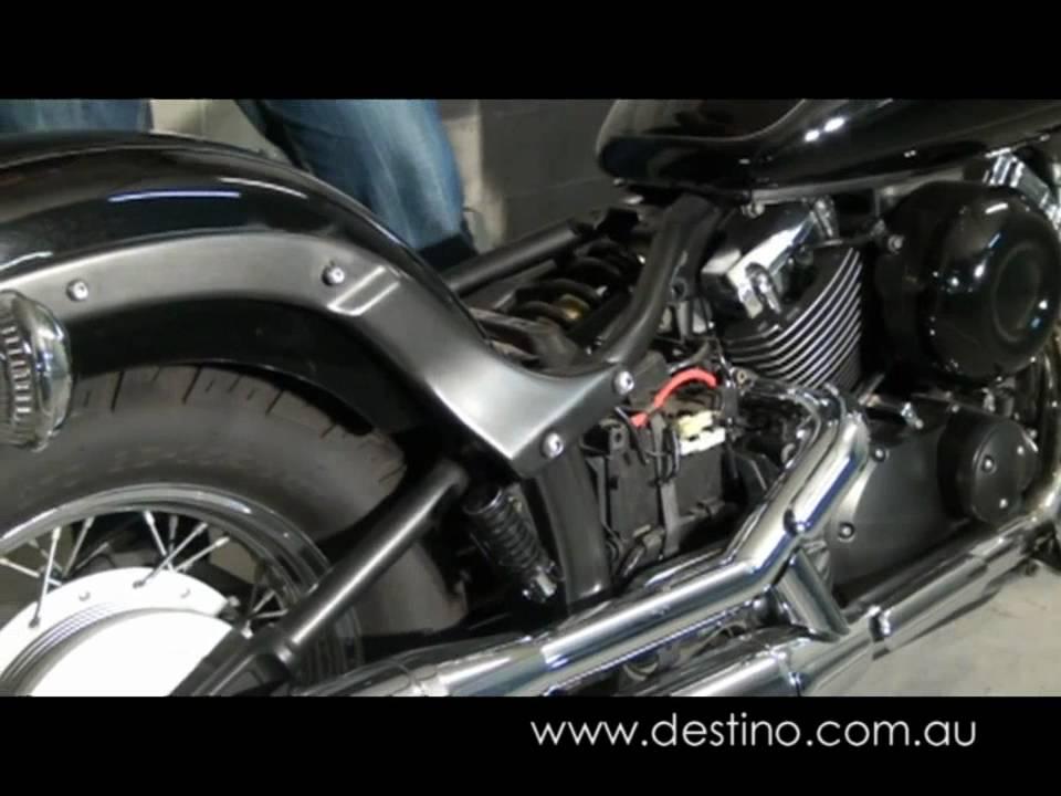 Yamaha Road Star Rear Seat Removal