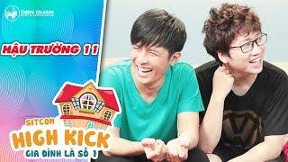 Gia đình là số 1 sitcom | hậu trường 11: Cười lăn lộn với màn quên thoại của Gin Tuấn Kiệt, Phát La