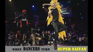 When DANCERS Turn SUPER SAIYAN | Dance Battle Compilation 🔥