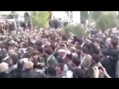 Marshal Muhammad Qasim Fahim Funeral