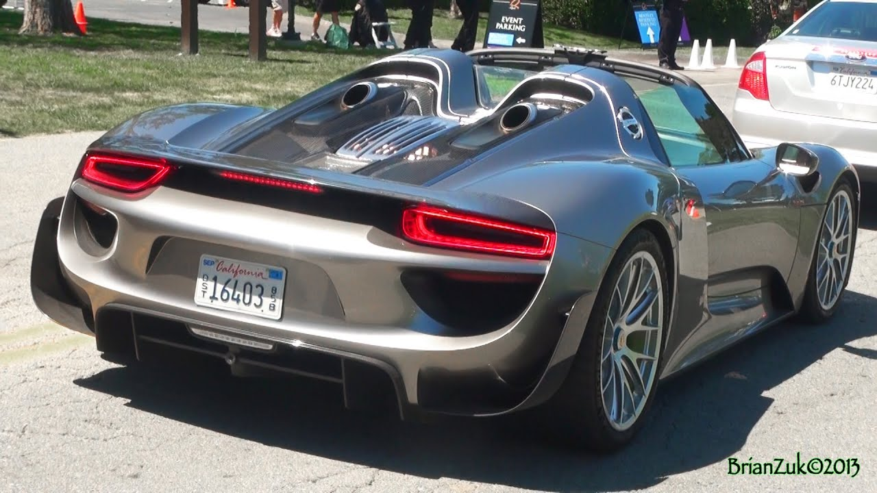 Porsche 918 Spyder Youtube