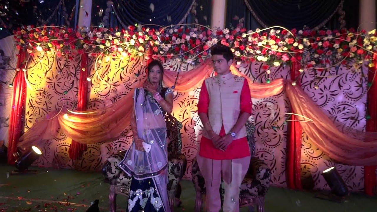 Dulha Dulhan Entry Wedding Decoration Raipur India Crazy