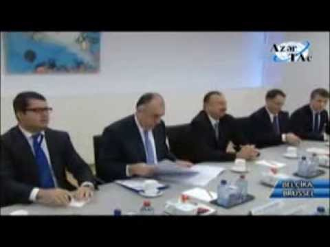 Azerbaijani President Ilham Aliyev meets NATO Secretary General in Brussels