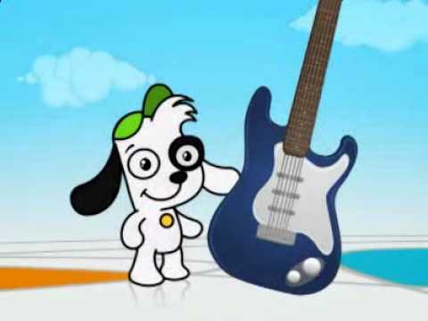 El perrito Doki descubre los instrumentos, vídeo de música para niños