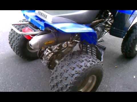 Yamaha Warrior  Fmf Exhaust