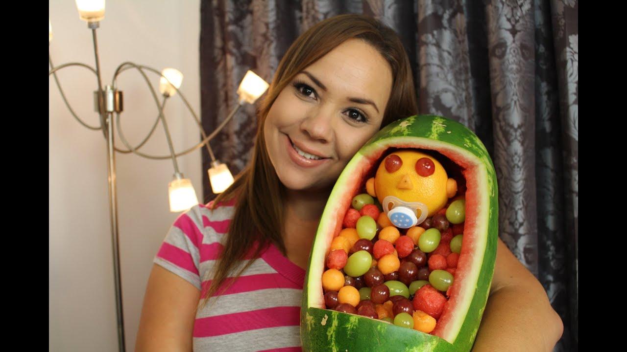 Decoraciones con frutas para baby shower baby shower - Decoracion de frutas ...