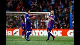 The Lionel Messi & Andrés Iniesta Connection ► Once In A Lifetime