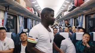 Being A Foreigner Inside China's Slow Train