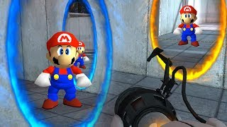 Thinking with Portals in Mario 64