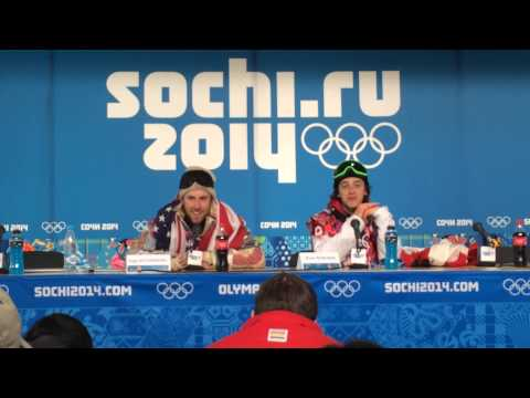 Park City native Sage Kotsenburg wins the gold medal in Slopestyle Snowboarding