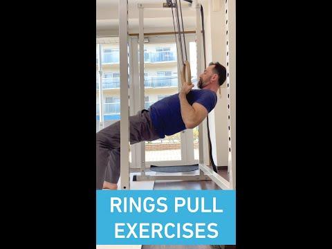 Rings Pull Exercises: Tutorial