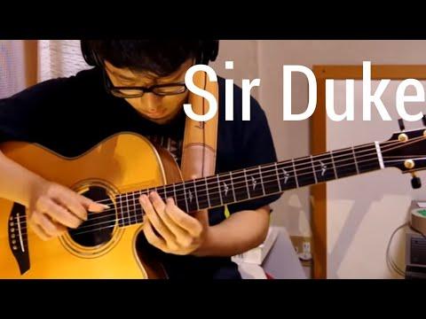 Sir Duke - Stevie Wonder - Solo Acoustic Guitar(Kent Nishimura)