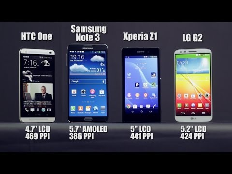 Best Android Smartphone of 2013: Detailed Review of Note 3 vs LG G2 vs HTC One vs Xperia Z1