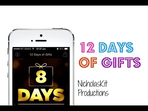 12 Days Of Gifts - Receive New Gift Everyday