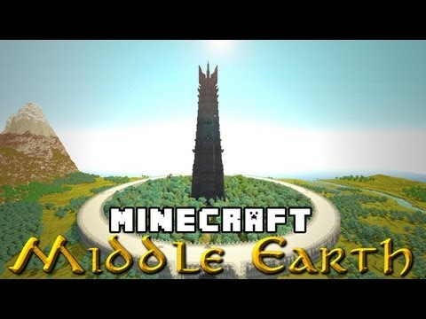 The Two Towers (and 10 thousand hours): A Minecraft Middle Earth Special