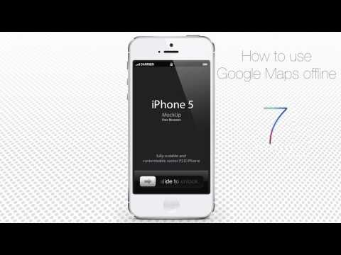 How to Use Google Maps Offline on iPhone or iPad Running on iOS 7