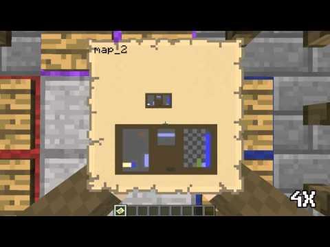 Тетрис в Minecraft