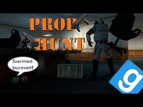 ZDKG: Garry's Mod Prop Hunt #14 - Csájna 12000km