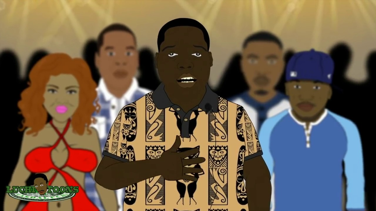 2Pac Vs Notorious B.I.G. – Rap Battle (Animation)