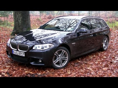 2016 BMW 535d Touring xDrive (313 HP) TEST DRIVE