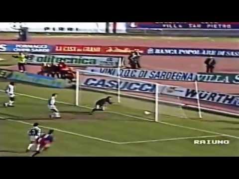 Serie A 1991-1992, day 16 Cagliari - Juventus 1-1 (R.Baggio, Firicano)