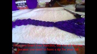How To Make A Yarn Tail.