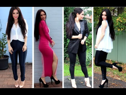 How to Style Current Trends! + Disco Pants, Outfit Ideas ♡