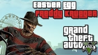 GTA V Freddy Krueger Easter Egg