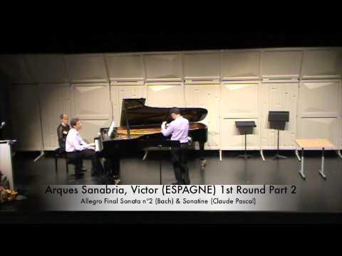 Arques Sanabria, Victor (ESPAGNE) 1st Round Part 2