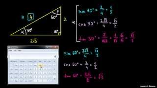 Kotne funkcije – primer