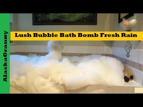 Lush Bubble Bath Bomb Fresh Rain