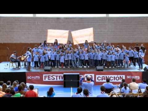 Grupo Scout 284 REINA DEL CIELO - Pañoletas de colores (Festival 2011 1/18)