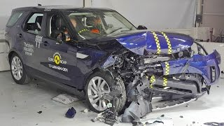 Land Rover Discovery 2017 Crash Tests [YOUCAR]. YouCar Car Reviews.