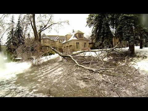 Toronto Ice Storm Aftermath - Dec 22 2013 (GoPro 2013)