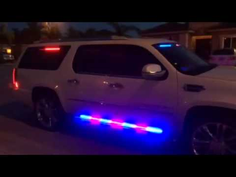 Cadillac Escalade With Full HG2 Emergency Lighting Police Package YouTube