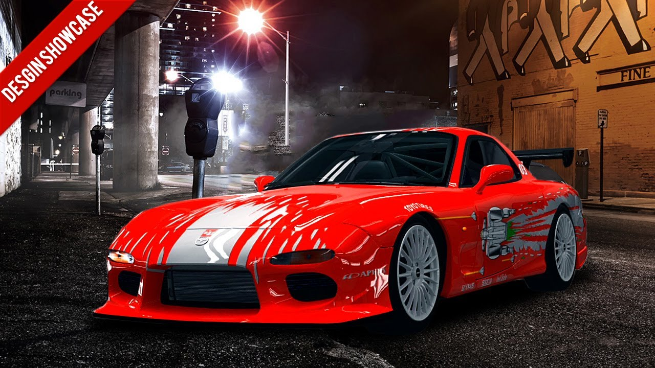 Fast and Furious Dom's Rx7