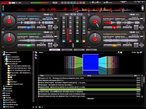 Montagem Funk agosto de 2013 (mixagem virtual dj)