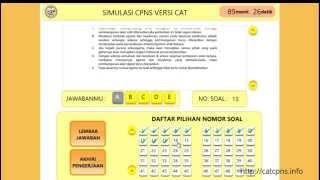 Simulasi CAT CPNS BKN 2014