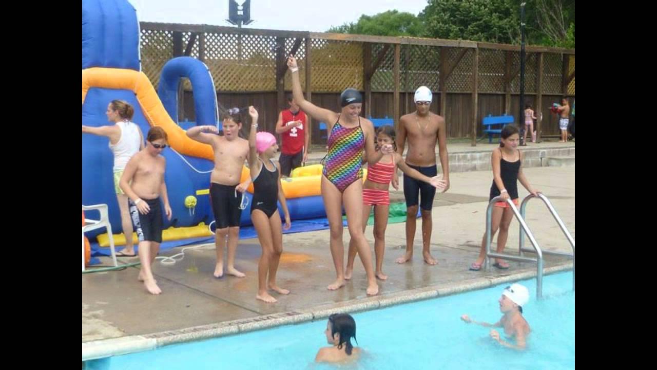 Kids Swimming in New Pool - YouTube
