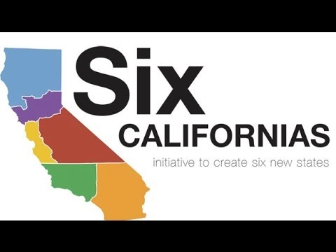 California To Be Split Into Six Different States?