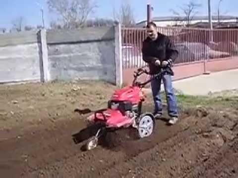Demonstratie lucru motocultor