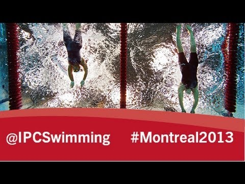 2013 IPC Swimming World Championships Montreal, Saturday 17 August, evening session