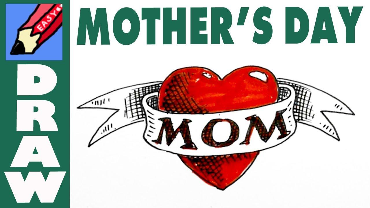 how to draw mom like a sailor tattoo   youtube
