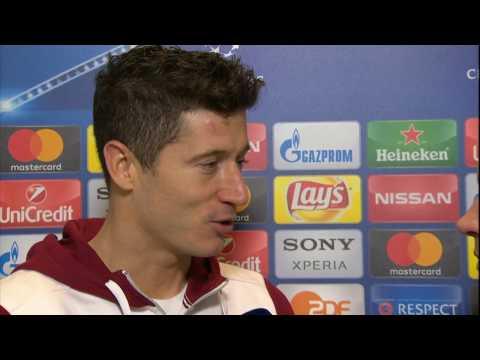 Robert Lewandowski po meczu Bayern - Arsenal || Wywiad || Liga Mistrzów